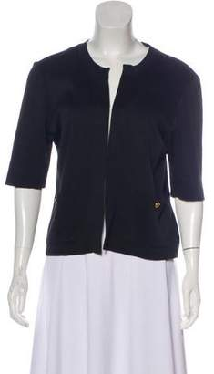 Chanel Open Front Cardigan