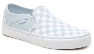 Vans Asher Checkered Slip-On Sneaker - Women's