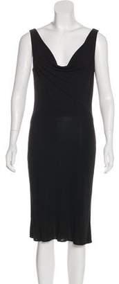 Yigal Azrouel Sleeveless Midi Dress