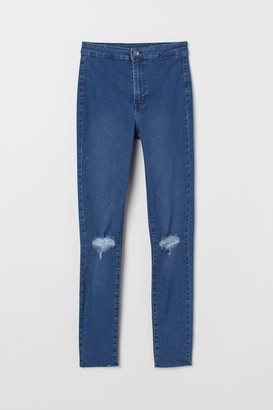 H&M Super Skinny Ankle Jeggings - Blue