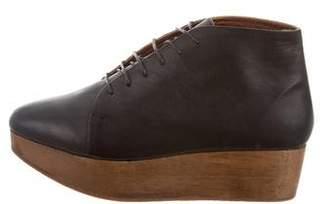 Rachel Comey Platform Leather Booties