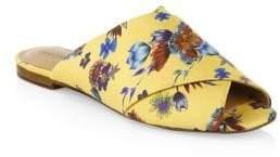 Rebecca Minkoff Anden Wrapped Silk Floral Slides