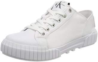 4b18e380e02 Calvin Klein Jeans Women s Bianca Nylon Low-Top Sneakers