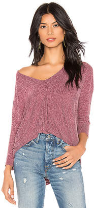 Bobi Bouncy Knit Dolman Top