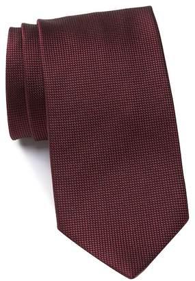 Ermenegildo Zegna Silk Tonal Solid Tie