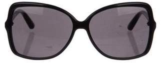 Saint Laurent Oversize Butterfly Sunglasses