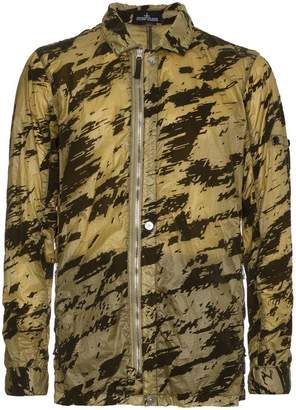 Stone Island Shadow Project Camouflage Print Shirt Jacket
