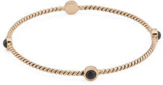 Handmade In Thailand Onyx Bronze Bangle Bracelet