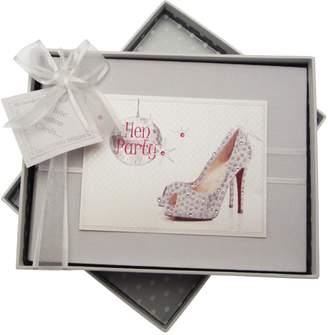 White Cotton Cards white cotton cards Hen Party Photo Album (Glitter Ball/Sparkly Shoe)