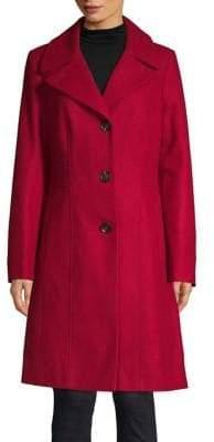 Anne Klein Buttoned Coat