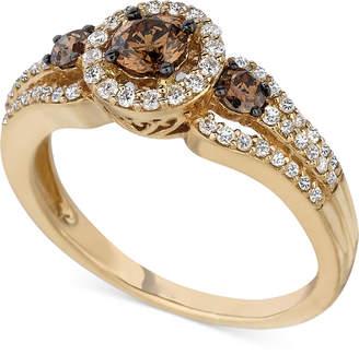 LeVian Le Vian Chocolatier Diamond Ring (3/4 ct. t.w.) in 14k Gold