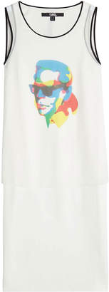 Karl Lagerfeld X Steven Wilson Printed Sleeveless Top