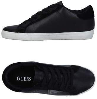 Womens Denky Low-Top Sneakers, Black, 4 Guess