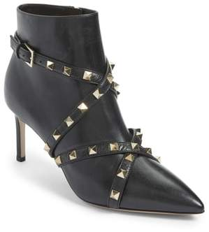 Valentino Rockstud Wrapped Bootie