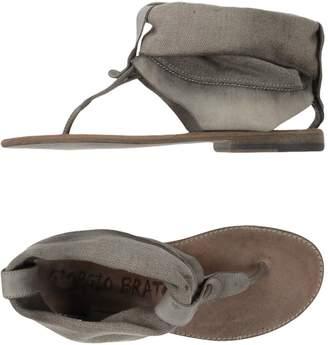 Giorgio Brato Toe strap sandals