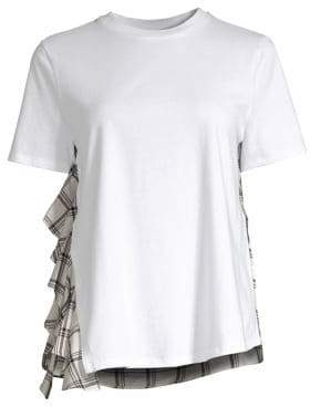 Opening Ceremony Plaid Back Tee