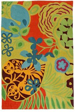 Flowering Quince Rug