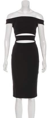 N. Nicholas Sleeveless Mini Dress