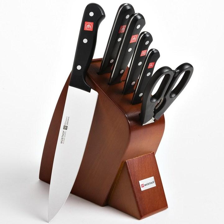 Wusthof Gourmet Mobile Block Knife Set - 7-Piece