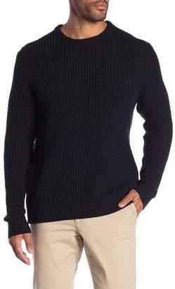 Joe Fresh Waffle Knit Crew Neck Sweater