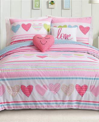 Urban Playground Daphne Reversible 5-Pc. Full/Queen Comforter Set Bedding