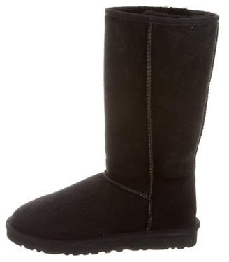 UGG Australia Suede Classic Tall Boots $85 thestylecure.com