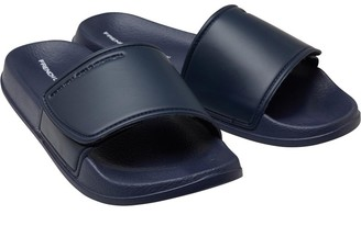 f97cc4212 French Connection Mens FC Strap Sliders Marine White