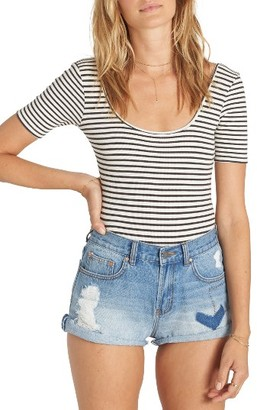 Women's Billabong Summertime High Denim Shorts $54.95 thestylecure.com