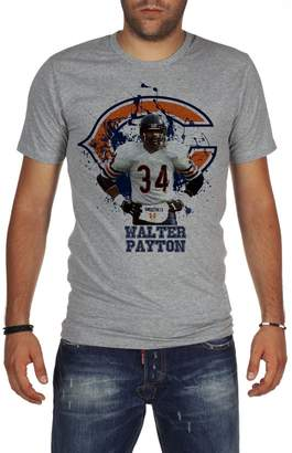 Walter Palalula Men's American Football NFL Chicago Bears Payton Tribute T-Shirt XL Grey