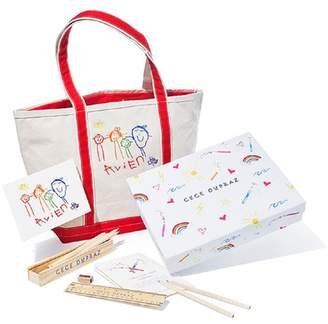 CeCe Asha By Ashley Mccormick Dupraz Childrens Custom Artwork Gift Set