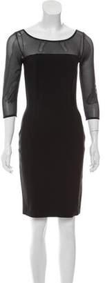 Chiara Boni Long Sleeve Midi Dress