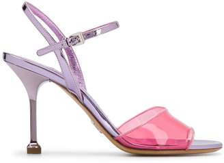 Prada transparent detail sandals