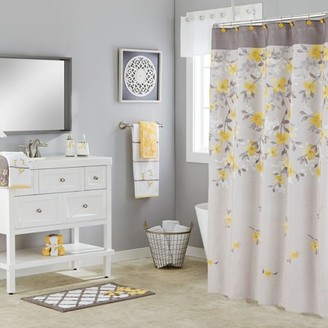 SKL Home Spring Garden Floral Shower Curtain
