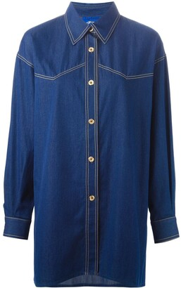 Guy Laroche Pre-Owned denim shirt