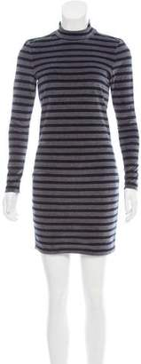Alexander Wang Striped Velvet Dress