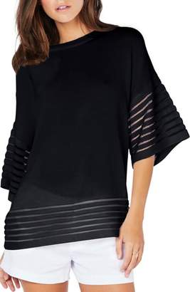 Michael Stars Shadow Stripe Pullover