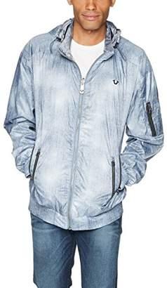 True Religion Men's Reversable Wind Breaker Jacket