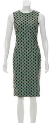 Fausto Puglisi Geometric Print Mini Dress