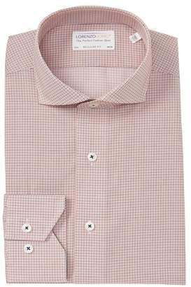 Lorenzo Uomo Check Regular Fit Dress Shirt