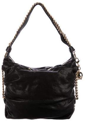 Thomas Wylde Leather and Chain Link Handle Bag