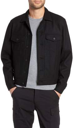 Wings + Horns Wool Blend Trucker Jacket