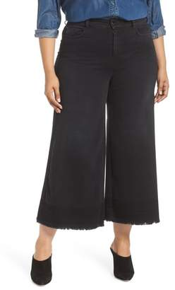 Marina Rinaldi ASHLEY GRAHAM X Igloo Crop Flare Jeans