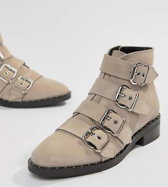 Asos Design DESIGN Avid suede studded ankle boots