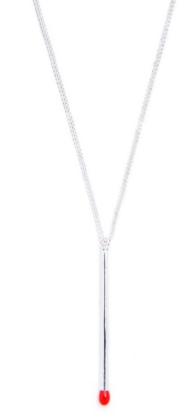 Paul Smith Paul Smith Match Pendant Necklace