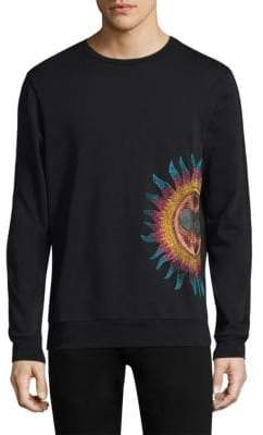 Paul Smith Embroidered Sun Pullover