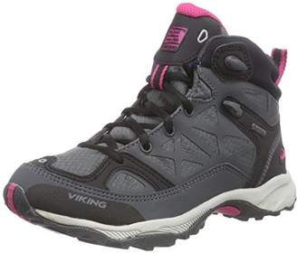 Viking Ascent JR GTX, Unisex Kids' High Rise Hiking Shoes,(35 EU)
