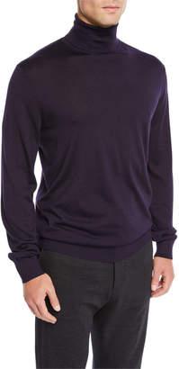 Ermenegildo Zegna Men's Cashmere Turtleneck Sweater
