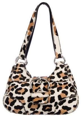 Prada Cavallino Buckle Bag