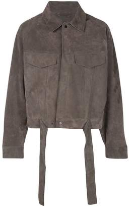 Fear Of God cropped suede jacket