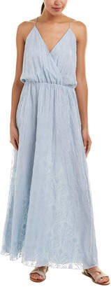 Johnny Was 4 Love And Liberty Silk Maxi Dress